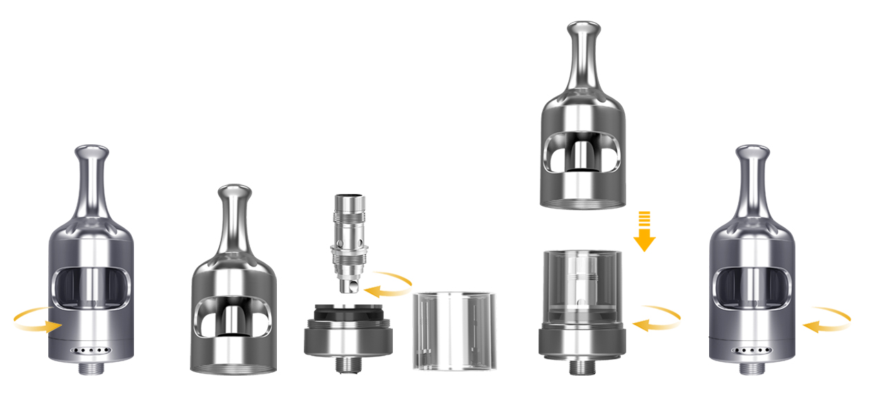 Nautilus 2 Tank by Aspire - How to replace the coil