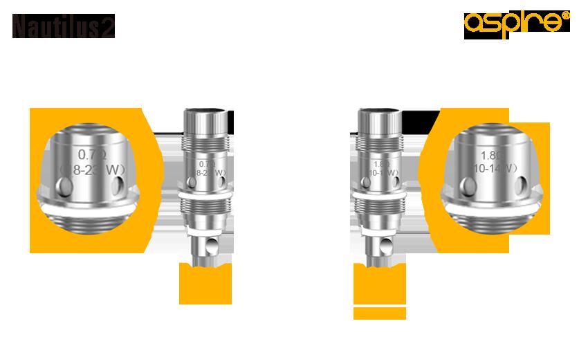 Aspire Nautilus 2 Tank - Coils